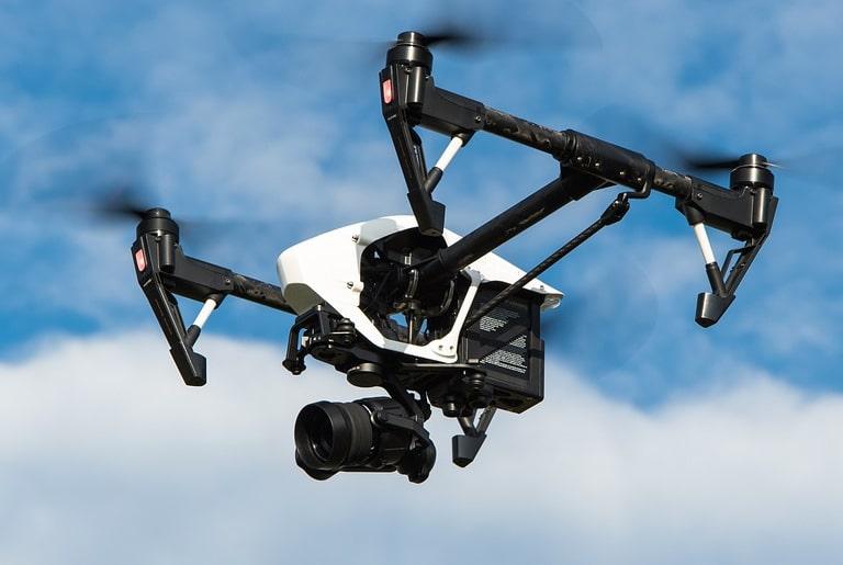 Intervention d'un drone à Kerpont