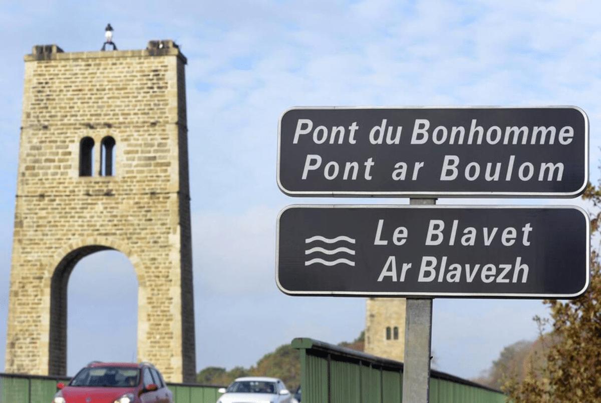 Travaux du Pont du Bonhomme à Lanester