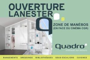 Ouverture Quadro Lanester