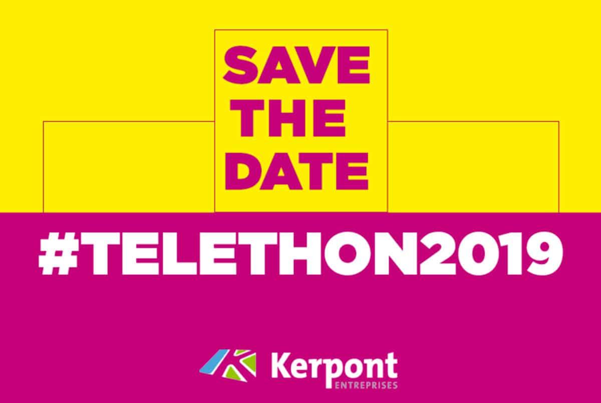Telethon 2019 Kerpont Entreprises